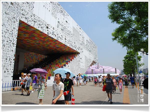【2010上海世博會】Via帶你玩~浦東A、C片區國家館!20