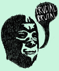 crucial brutal collab (ryan fortney) Tags: philadelphia shirt print t leah g awesome el screen dudes brutal neutron crucial greenberg brutaltron