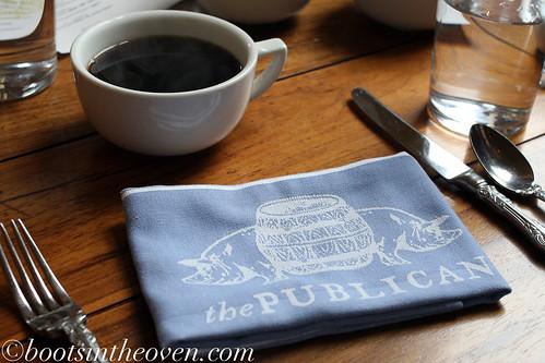 Coffee and Napkins