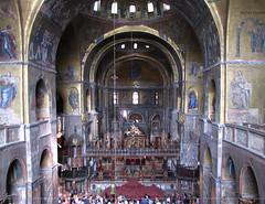 inside San Marco Basilica
