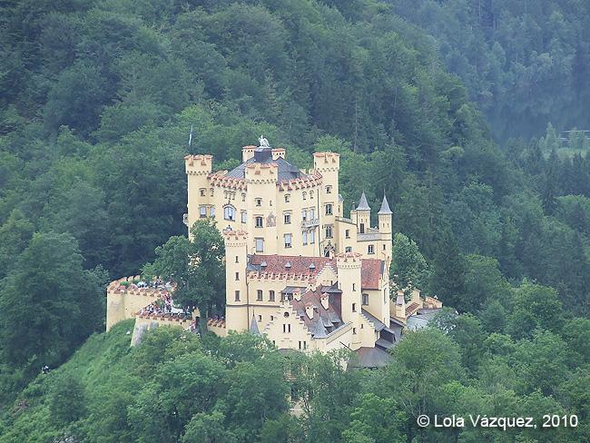 Castillo de Hohenschwangau © Lola Vázquez