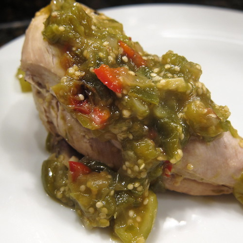 Tomatillo Braised Chicken