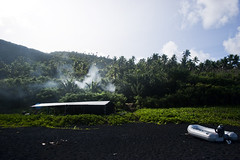 Agrihan beachside camp (PhilWestcott) Tags: island volcano pacific phil conservation westcott usfws saipan marianaislands fishandwildlife cnmi chomorro