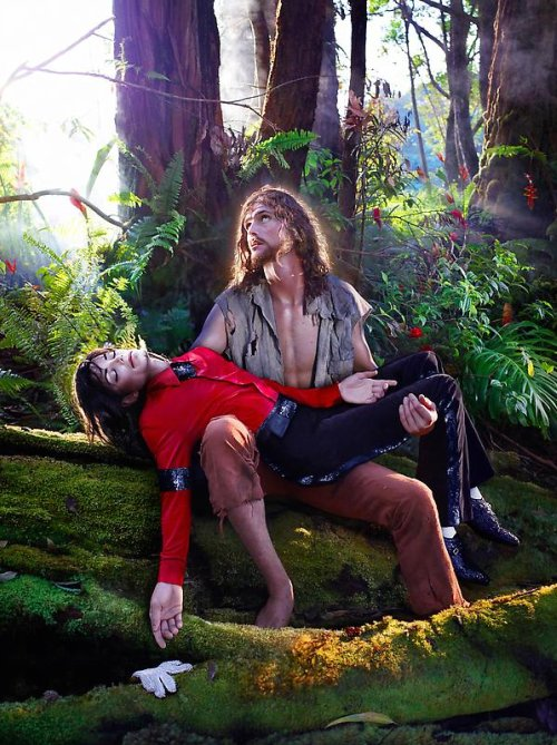David LaChapelle, American Jesus Hold me, carry me boldly