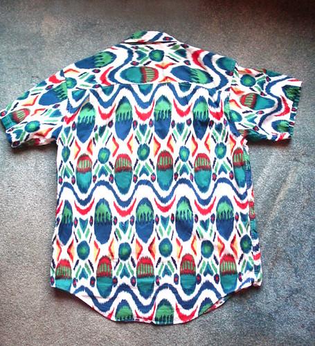 Edit ikat shirt