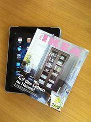 IKEA-Katalog auf dem Apple iPad