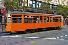 A streetcar named 1893 (Images by John 'K') Tags: sanfrancisco california italy milan train transport muni marketstreet publictransport streetcar 1893 peterwitt johnk d5000 johnkrzesinski randomok