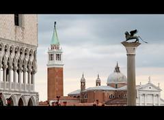 Noli Me Tangere (mario bellavite) Tags: venice italy italia shot best campanile explore piazza palazzo venezia leone ducale citt colonna veneto marciana serenissima smarco mariobellavite