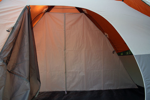 Tent with Divider in Place