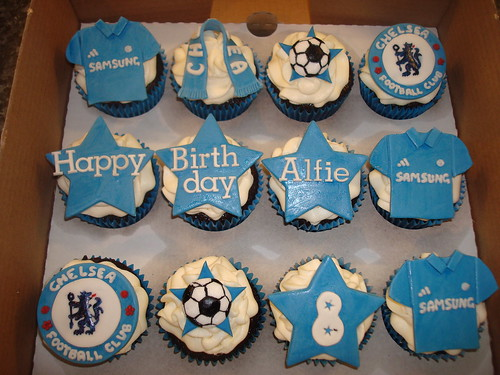 Chelsea Football Club Cupcakes A Photo On Flickriver