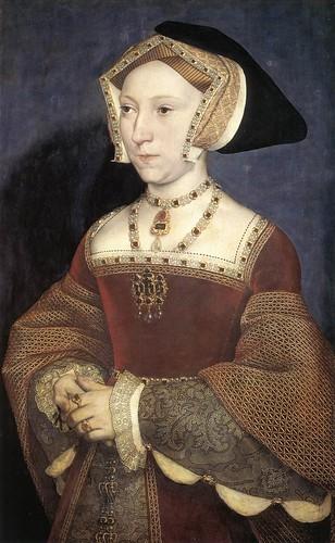 029-Jane Seymour reina de Inglaterra 1536-Hans Holbein el Joven