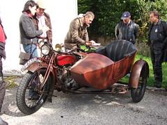 Indian Big Chief - sidecar - 1925 (John Steam) Tags: vintage austria big indian chief meeting motorbike motorcycle oldtimer 1925 sidecar mondsee 2010 motorrad beiwagen seitenwagen