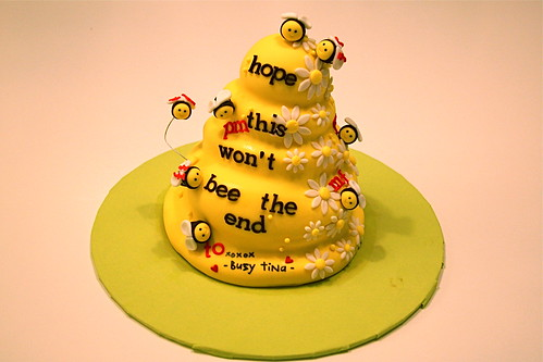 Honey, bees & cake!