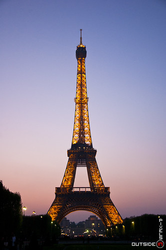Sunset Eiffel