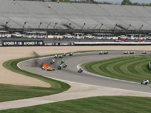 Moto2 action...