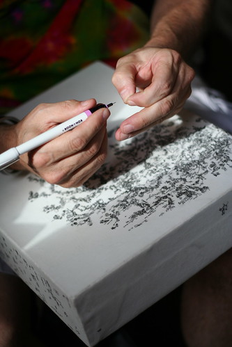 Micro-Doodler in Fine Arts