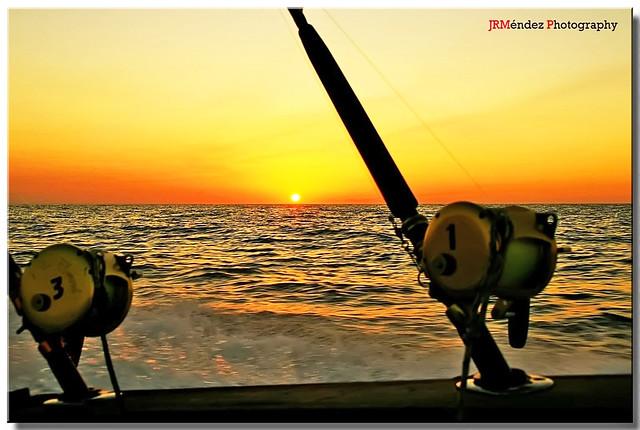 Amanecer de pesca