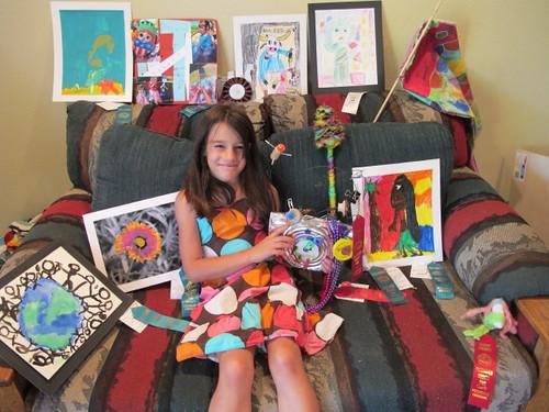 Lil' Mermaid and her 2010 Fair Entries