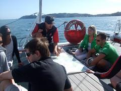 Carino Crew and the Bay