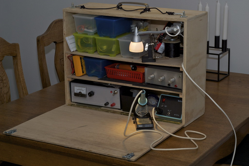 Diy Electronics Repair Workbench : The world s best photos of make and workbench flickr