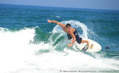 Matt Joyner (BrandonWaterfield) Tags: surf waves surfer hurricane surfing earl outer swell banks obx