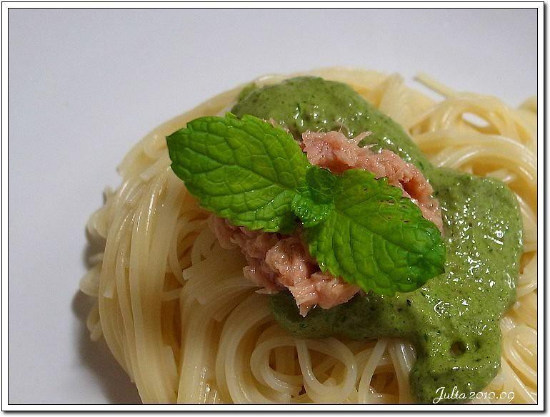 青醬義大利麵 (3)