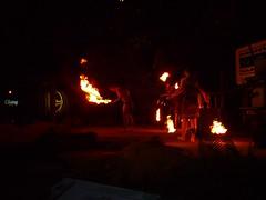 P1150080 (Marc B Kingston) Tags: fire singapore breathing nightsafari lx3 nightsafarifire