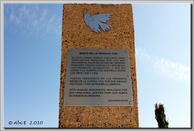 Inscripción de los familiares a los fusilados en La Pedraja