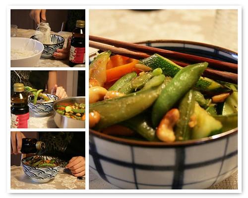 wok meal mosaic