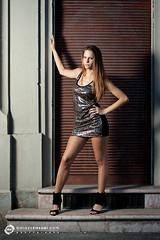 Nomi (Balzs Kassai) Tags: woman hot sexy girl beautiful canon high dress young longhair mini babe heels brunette elegant