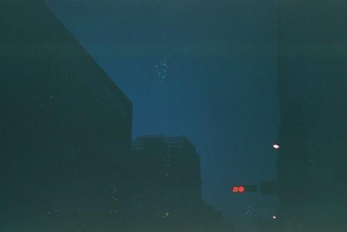 夜晚街景-都市的輪廓F1000018