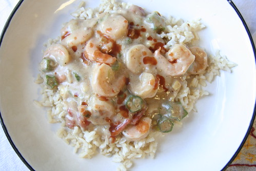 Homemade Shrimp Etouffe'/Gumbo