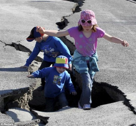 kids in cracks