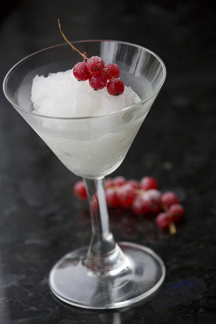 Yuzu Rice Wine Granita