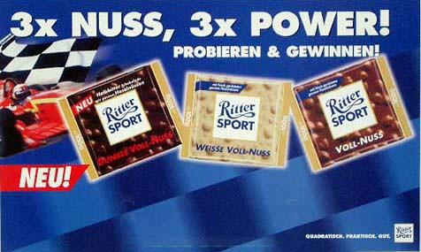 3x Nuss, 3x Power