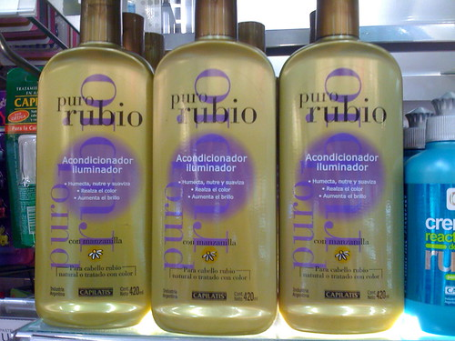 Special shampoo for blonds in Shangri-La
