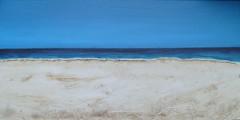Meer (silviakrog) Tags: sand meer acryl