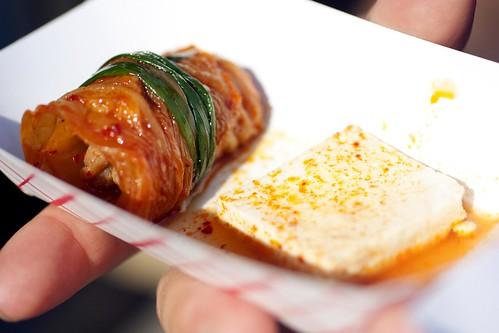kimchi mari from hahm ji bach @ asian feastival
