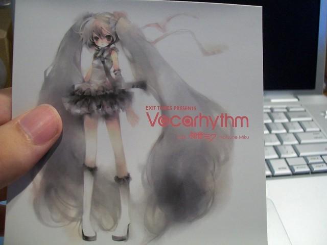 Vocarhythm Sticker