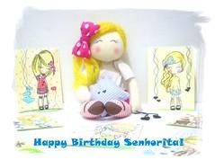 ! (Tiana  Ayres) Tags: birthday doll day amor carinho cartoon picture dia blonde amizade fe boneca aniversrio desenhos minime loirinha ervacidreira fernandanobrega cidreirinha