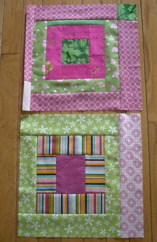 pink and green blocks 5 and 6