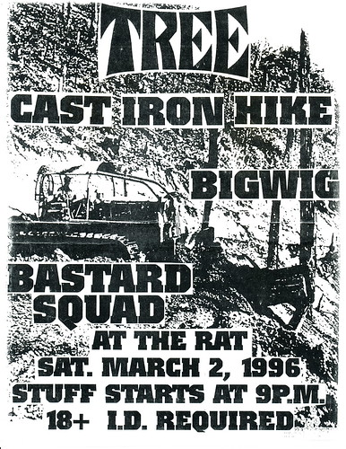 Tree, Cast Iron Hike, Big Wig - The Rat - March 2, 1996