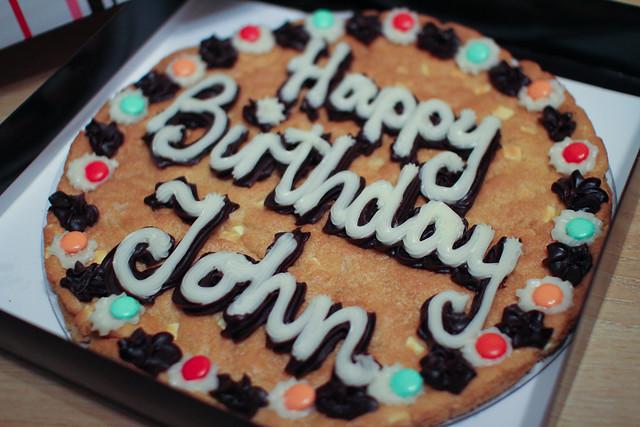 Happy Birthday by John McBride