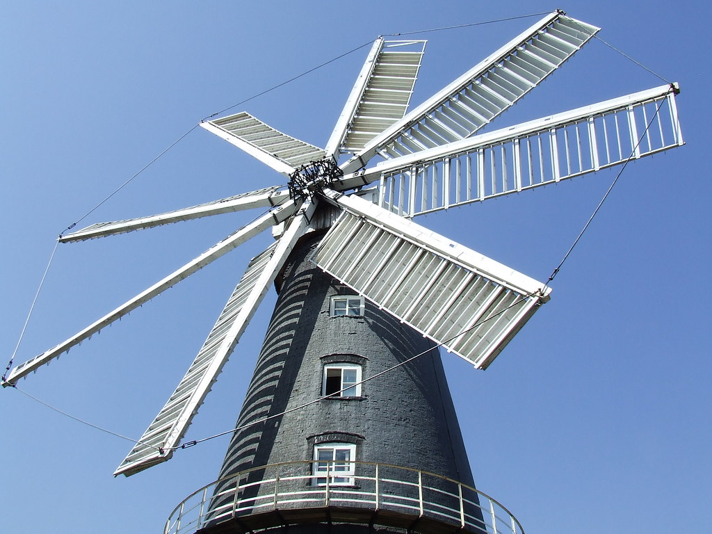 Heckington 8-sailed Windmill