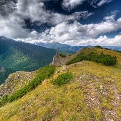 Mountain Bocza  1208 m n.p.m. (Mariusz Petelicki) Tags: clouds poland polska hdr tatry giewont tatramountains podhale tatryzachodnie pejza bocza 2x3xp vertorama mariuszpetelicki