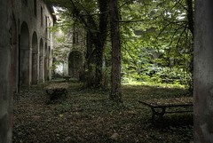 Psychiatric hospital - garden of dreams vanished (Mr.Baldo) Tags: contributions abandonedplaces industrialarchitecture baldo industrialarcheology issue0 labandon abandoneditaly backlightmagazine mrbaldo