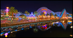 A Paradise Pano [Explore] (Corsey21) Tags: california night pier paradise disneyland disney adventure explore 7d walt frontpage hdr screamin sigma1020mmf456exdchsm