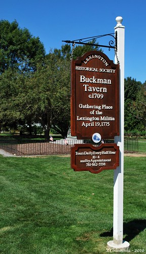 Buckman Tavern - Lexington