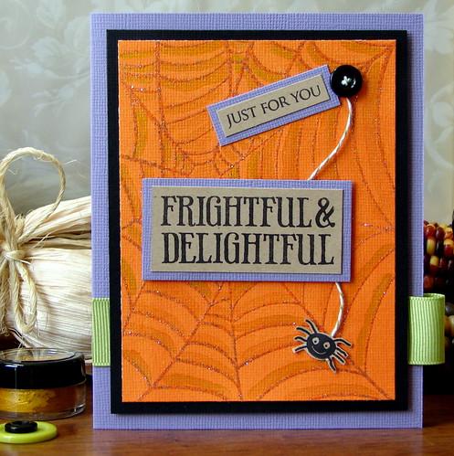Frightful & Delightful Card