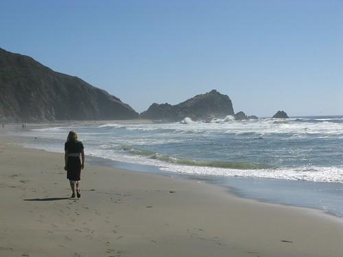Dana sur le plage